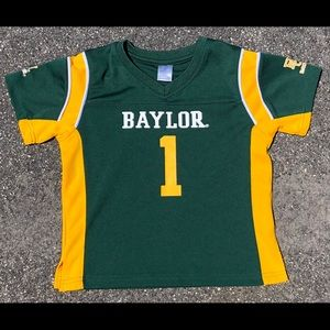 Baylor Bears Football Jersey -Toddler -4T